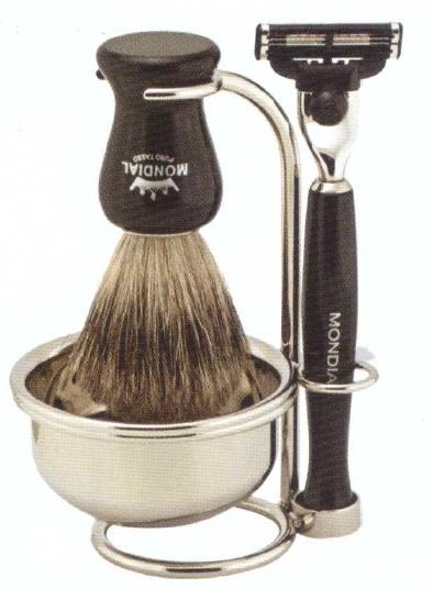 Mondial 40387 set pennello in tasso ciotola e mach 3 - Raccogli briciole folletto ...